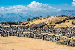 Forteresse de Sacsayhuaman (Voyages Lambert) Tags: ancient andes archaeology architecture cuzco famousplace fort history inca landscape mountain nature oldruin people peru sacsayhuaman scenics travel urubambavalley valley pérou