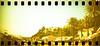 film (La fille renne) Tags: film analog 35mm lafillerenne sprocketrocket lomographyxpro200 xpro crossprocessing landscape portcros roadtrip travel sea harbor panorama