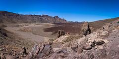 Exploring Tenerife (jamesromanl17) Tags: sky landscape volcano rock rocks panorama landscapes hot tenerife panoramic dry volcanic rocky rockymountains travel x28