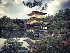 Kinkakuji Temple - Kyoto (-Faisal Aljunied-) Tags: unesco gold reflections japan kyoto goldenpavilion temple kinkakuji iphone7plus faisalaljunied