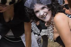 Fair-well 2016 (9/12) (Tom Fenske Photography) Tags: ocf woman smile portrait people costume oregoncountryfair eugene street