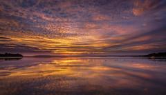 Reflective moment (affectatio) Tags: stgeorgesbasin sunset evening sundown reflection reflections sony a77mk2 a77ii tokina 1116mm