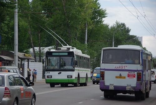 Irkutsk trolleybus VMZ-5298.00 284 ©  trolleway