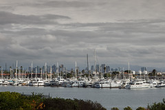 San Diego across Shelter Island (vincestamey) Tags: sandiego harborisland sailing marina california clouds vincestamey