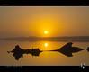 The Helios Mirror (tomraven) Tags: miror sun sea sky driftwood reflections reflection haze mist tomraven karamea aravenimage q12017 estuary silence pentax k50