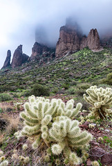 Superstition Mountains (brianbaril_photography) Tags: superstition mountains cactus fog low clouds arizona apache junction lost dutchman state park usa desert az brianbaril beautiful vacation d800 nikon nikkor landscape mountain nature photography photo rock sky cloudy travel