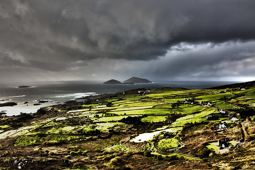 Clouds over Kerry ring