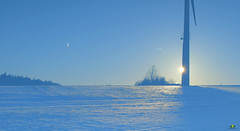 Mehrfachbelichtung / double exposure (Argentarius85) Tags: nikon d5300 35mm mehrfachbelichtung double exposure winter sonne mond