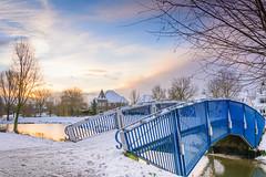 Beukenpark-42-1 (stevefge) Tags: beukenpark beuningen landscape snow winter gelderland park sky bridges water nederland netherlands nature nl natuur nederlandvandaag reflectyourworld trees