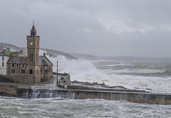 stormy weather (TSE Photography Cornwall) Tags: storm stormy seascape sea cornwall waves porthleven