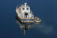 Bateau de pêche au Bono, sur la rivière du même nom (Bretagne, Morbihan, France) (bobroy20) Tags: lebono rivièredubono rivière auray bretagne bateau bateaudepêche morbihan france tourisme hiver pêcheur barque navire boat brittany river