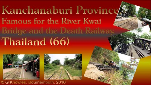 Death Railway and Tham Krasae station besides the River Kwai in Kanchanaburi Province, Thailand. ( 66 )