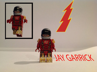 Custom LEGO Jay Garrick