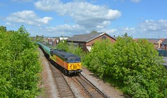 56113 at Peartree (robmcrorie) Tags: train grid aviation derbyshire rail class rolls derby freight royce fuel 56 tanks peartree grangemouth willington colas sinfin 56113 6s96