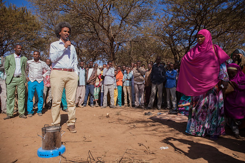 Promoting healthy gas in villages, Somaliland