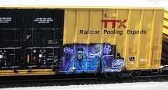 natas (timetomakethepasta) Tags: art train graffiti boxcar freight ctk tbox ttx natas