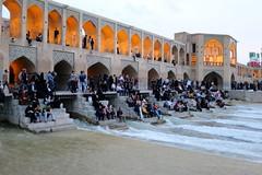 Iran_6639 (DavorR) Tags: bridge iran most esfahan isfahan khajoo persianarchitecture khajubridge
