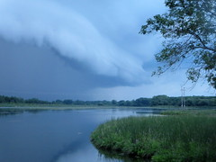 Approaching Storm (Shot 2) (moodyfan (Julie)) Tags: storm wisconsin clouds ominous thunderstorm darkskies approachingstorm