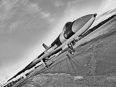 Avro Vulcan over Carlisle Airport (ambo333) Tags: carlisle carlisleairport cumbria avro vulcan avrovulcan xj823 xh558 solwayaviationmuseum carlislelakedistrictairport cax clda stobartair stobart airport vulcanxj823 avrovulcanxj823 carlislecumbria