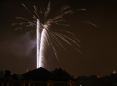 Fireworks Over DC, July 4th (brettkbowers) Tags: longexposure light usa america canon washingtondc dc fireworks patriotic t3 4thofjuly dmv