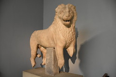 Marble lion from the Mausoleum of Halicarnassus, ca. 350 BCE (Prof. Mortel) Tags: london mausoleum britishmuseum halicarnassus