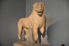 Marble lion from the Mausoleum of Halicarnassus, ca. 350 BCE (Prof. Mortel) Tags: london mausoleum britishmuseum halicarnassus