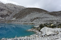 Camp at Laguna 69. Beautiful (*Andrea B) Tags: camp mountain lake mountains peru southamerica june america spring south hike blanca laguna cordillera quebrada 2015 sesenta nueve laguna69 cordillerablanca llanganuco sesentaynueve quebradallanganuco june2015 spring2015 alvaradoadventures peruandesguide