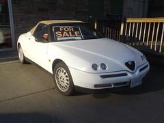 1996 Alfa Romeo Spider T.Spark 16V (Foden Alpha) Tags: spider alfa romeo 16v tspark al909c