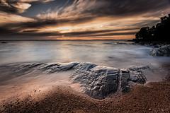 _U7A3247_1 (Robert Björkén (Hobbyfotograf)) Tags: ocean sunset sea sky cloud beach water landscape seaside sand outdoor shore serene