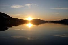 Zachód słońca nad jeziorem Wörthersee | Sunset on Lake Wörthersee