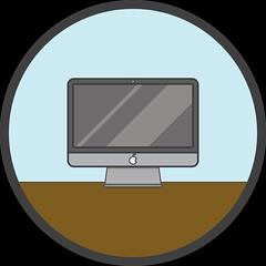 iMac (wild_coon) Tags: apple table imac flat icon