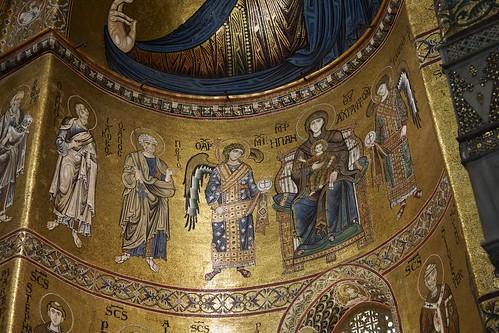 Byzantine mosaics, Monreale cathedral, Palermo