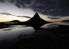 Sunset by Kirkjufell (Tómas Freyr) Tags: sunset sky clouds landscape iceland kirkjufell drone grundarfjörður dji stöð djiphantom