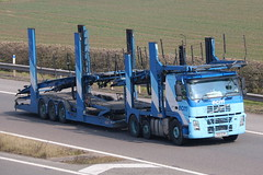 S66ECM - ECM (TT TRUCK PHOTOS) Tags: m5 strensham tt volvo fm ecm car transporter drawbar