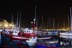 BARCA EN LA NOCHE CORUÑESA_-2 - copia (lourdestorreira) Tags: puerto acoruña mar maritimo ciudad navidad alumbrado luces noche galicia pesquero pesca nautico
