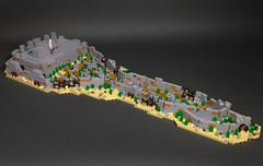 Rebuilding the Wall of Jerusalem (Calvin Sun) Tags: lego micro bible