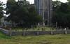 Churchyard of St Andrews church, Blagdon, Somerset (janetg48) Tags: gwuk churchyard graves blagdon somerset church standrew