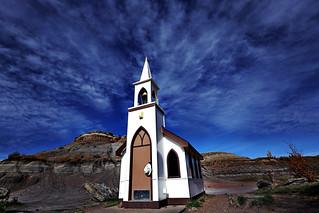 World's Smallest Church in Badland