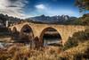 Pont Vell (candi...) Tags: pontvell castellbelielvilar puente barcelona rio llobregat montserrat montañademontserrat cielo nubes naturaleza airelibre hierba arboles agua arcos sonya77