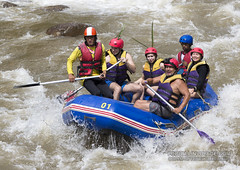 White water rafting at Phuket, Thailand - 17/01/2017 (Phuketian.S) Tags: action helmet women woman sexy family happy funny mountain whitewater extrem extreme экстрим droplet spray splash брызги паттая краби самуи pattaya krabi samui phuket thailand canoe oar sport raft rafing people fun river hard рафтинг народ люди человек река вода бурный пороги пхукет таиланд тайланд пукет тай vehicle boat outdoor water лодка спорт портрет девушка женщина girl portrait