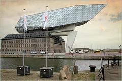 La maison du port à Anvers (The harbor house in Antwerp), Belgique, Zaha Hadid Architects (claude lina) Tags: claudelina belgium belgique antwerpen anvers ville town city architecture havenhuis maisonduport zahahadid