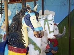 Carousel Horses (warmheartcold) Tags: argentina 2017 rosario carousel carouselhorse parquedeespana