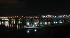 The market Street Bridge (rpennington9) Tags: bridge water tennessee chattanooga bridges night longexposure tripod nikon marketstreetbridge tennesseeriver