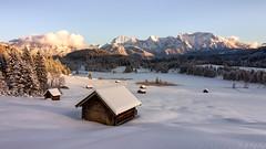 Geroldsee / Karwendel (MC-80) Tags: geroldsee gerold krün karwendel karwendelgebirge winter sunset