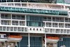 IMG_7332 (LoxPix2) Tags: loxpix australia royalcaribbean legendoftheseas plane ship brisbane qld tug murrumbidgee ferry boat bridge cruise morningside river