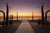 Hollow (Astarotte73) Tags: alassio ligurianriviera seaside sea goldenhour morning pier loneliness hollow symmetry italy liguria tamronsp1530mmf28divcusd
