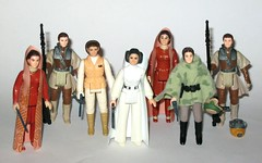 Vale Carrie Fisher and Debbie Reynolds  - Kenner star wars princess leia organa action figures (tjparkside) Tags: vale carrie fisher debbie reynolds kenner star wars princess leia organa action figures rip farewell figure bespin bounty hunter disguise hoth outfit endor poncho helmet blaster blasters black blue pike staff 70s 80s boushh