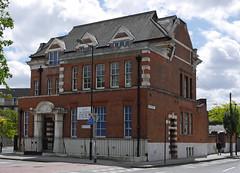 Rodney Road Police Station (radio53) Tags: police metropolitian station closed history met lewisham walworth london se15 se17 rodney flint street panasonic gx7