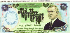 "Gulf War ""Victory"" - Bush Accepts Iraqi ""Surrender"" (ramalama_22) Tags: gulf war mid east middle iran iraq ayatollah khomeini saddam hussein george bush pysch ops inflation social unrest helicopter money replica fake countefeit currency central bank surrender soldier"