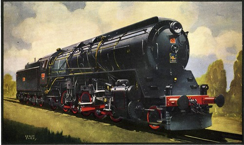Vulcan Foundry - Locomotives Catalog - a giant 2-10-2 steam
